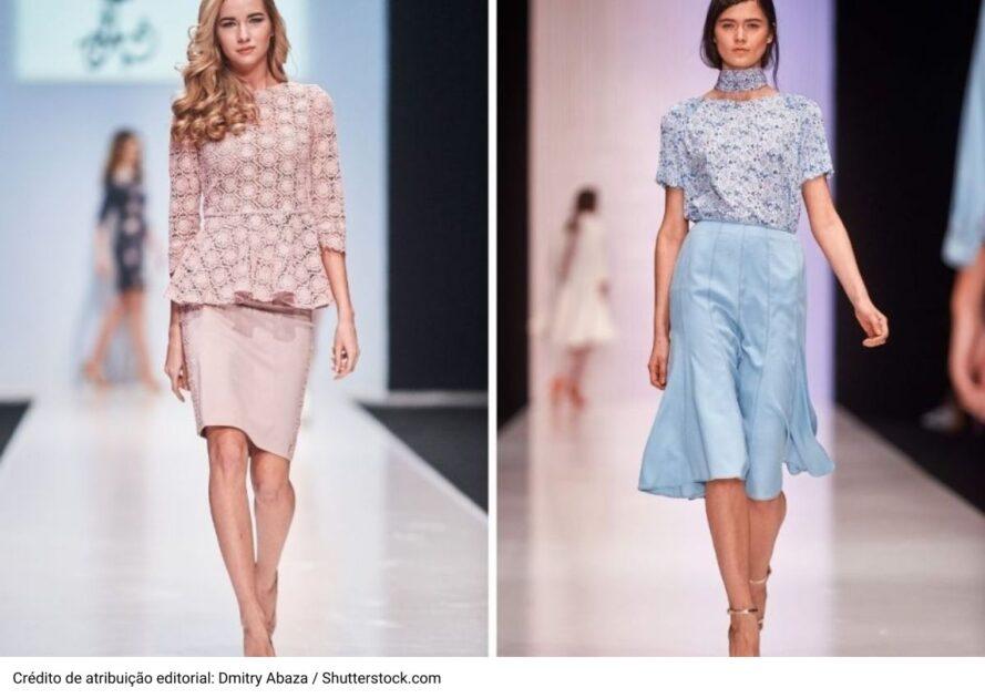 Looks monocromáticos marcarão a moda verão 2021