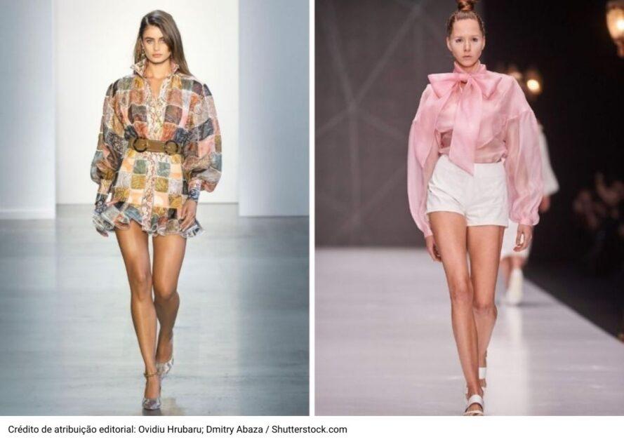 Mangas bufantes são uma das trends da Moda Verão 2021