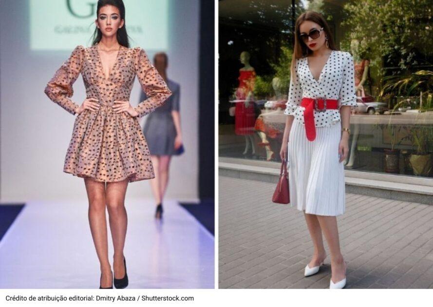 Poá é uma das tendências da moda verão 2021