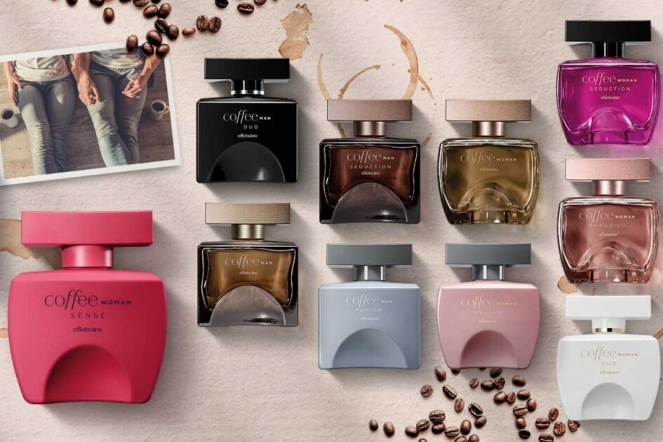 Linha de perfumes Coffee Woman
