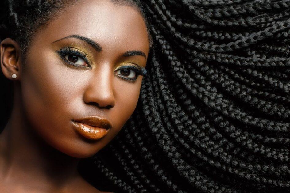 Tranças ajudam a recuperar o cabelo afro quebradiço