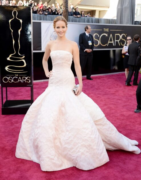 Look Ostentação Jennifer Lawrence